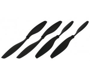 Hélices 10 pouces (10A & 10B) 500X Gaui