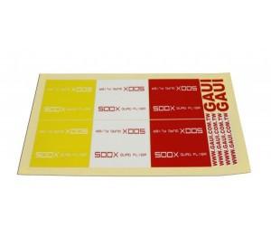 Planche décoration 500X Gaui