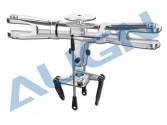 Tête Flybarless Alu noir T-REX 700 ALIGN
