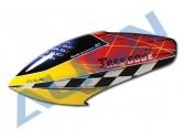 HC6603 - Bulle fibre jaune/orange T-Rex 600E PRO