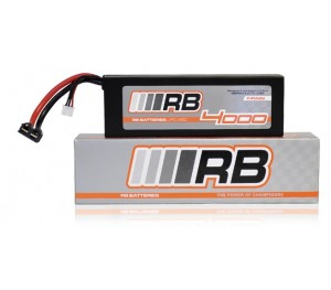 Batterie Lipo Hard Case 7,4V 3000 mAh 30C