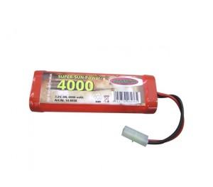 Batterie 4000mAh SunPower 7N 8,4v Nimh