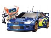 Subaru Imprea Bleue WRC electrique 1:10 race Tin Auldey