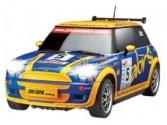 Mini Cooper  WRC ELECTRIQUE 1:10 RACE TIN AULDEY