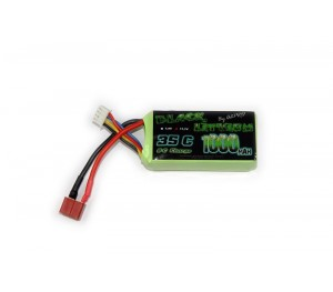 Lipo 3S 1000mAh 35C Black Lithium