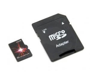 Carte mémoire micro SD 16GB Rapid Rush