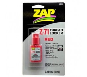 Frein filet fort Z71 - 6ml Rouge