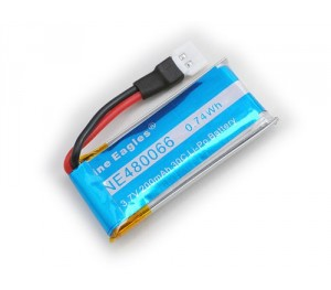 Batterie lipo 3.7v 200 mAh Solo Pro 125