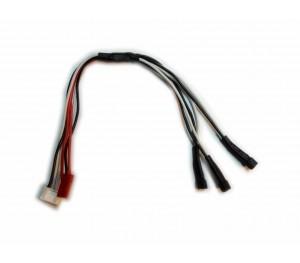 Câble de charge 3 lipo 1S (MCPX)