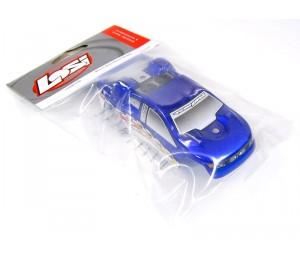 Carrosserie Bleu / Blanc Micro T (Peinte) Team losi