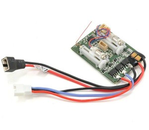 Récepteur Ultra Micro AS3X DSM2 6 voies + contrôleur brushless
