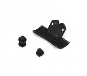 Mini 8ight - Set supports carrosserie et pare-choc- Losi