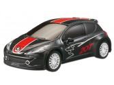 Peugeot 207 RCup  Noire 1/16e RC Race Tin