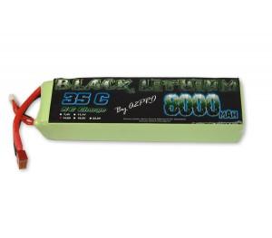 Black lithium 8000 mAh 4S 14.8v 35C