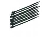 Serre-câbles réutilisables 210x7.6mm noir