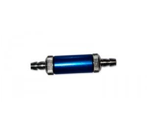 Filtre carburant alu démontable bleu