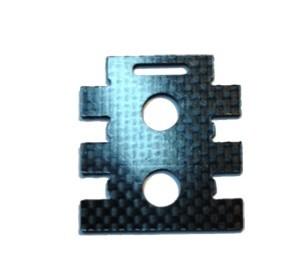 Plaque carbone support récepteur Zoom 400