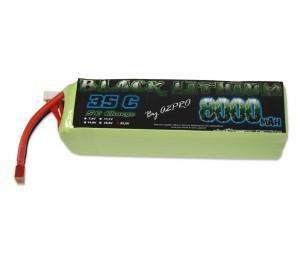 Black Lithium 8000mAh 22.2v 35C 6S