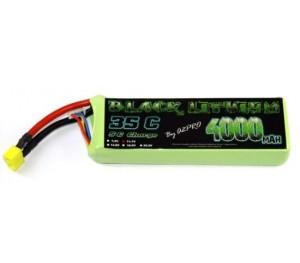 LiPo Black Lithium 3S 4000mAh 35C 11,1v