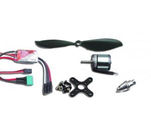 Set motorisation brushless Micro Jet