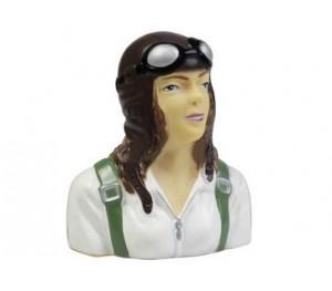 Figurine de pilote Jeanette