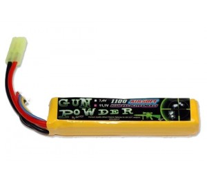 Lipo Gun Powder 1100 11,1V - 1 stick