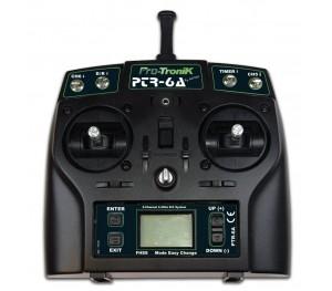 Radio Programmable 2.4Ghz PTR-6A V2 Pro-Tronik