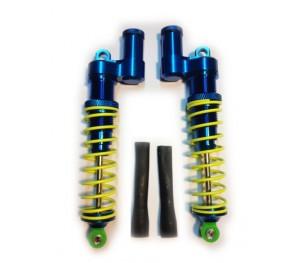 Paire amortisseurs 100 mm  reservoir haut option T-Maxx traxxas