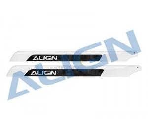 H55001 Pales fibre de carbone 520mm Align