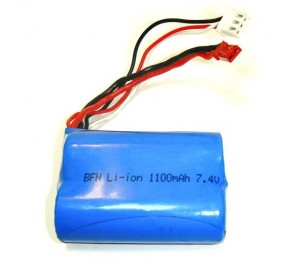 T5121/23N Batterie Lithium Ion 1100mAh 7.4V SPARK TRAINER XL T2M