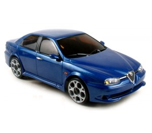 MR-015RM ALFA 156 GTA bleue métal