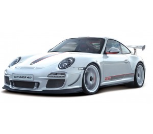 Porsche 911 GT3 RS 4.0 Blanche