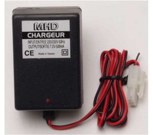 Chargeur 220V pour accu 7.2 V MHDPRO