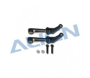 Bras de commande métal noir pour ALIGN T-Rex 550E HN6119