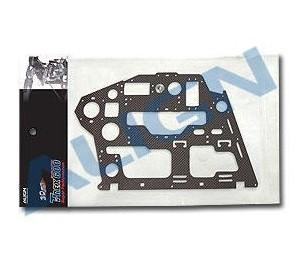CF Châssis noir carbone (R) 1.6mm - H60072 ALIGN