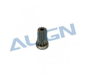 Pignon de moteur 12T pour ALIGN T-Rex 500 H50059