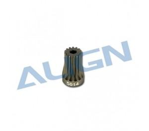 Pignon de moteur 14T pour ALIGN T-Rex 500 H50061