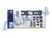 HS1120 - Align T-Rex 450 Carbon Frame Parts Set