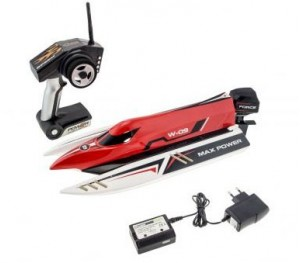 MAXX SPEED BOAT ROUGE 2.4GHZ BRUSHLESS