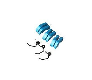Masselottes embrayage alu bleu