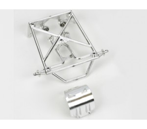 Rear roll cage set chrome Mini-DT