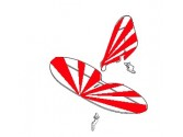 Empennages Minium Clipped Wing rouge