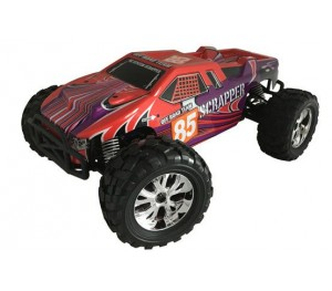 SCRAPPER ROUGE 1/10 4x4 BRUSHED RTR