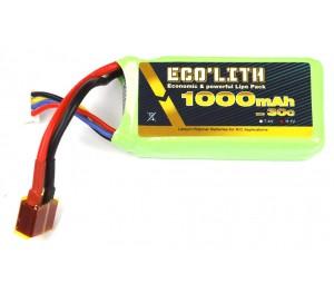 Eco'lith 3S 11.1V 1000mAh 30C