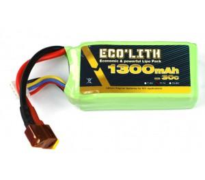 Eco'lith 3S 11.1V 1300mAh 30C