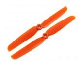 Hélices GemFan 6x3 anti-horaire orange