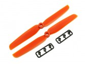 Hélices Gemfan 5x4 horaire orange