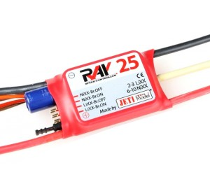 Contrôleur brushless Ray 25A