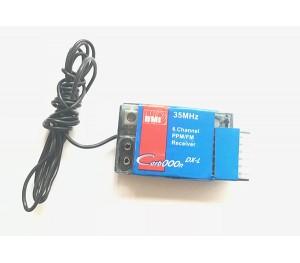 Récepteur 6 voies FM 35Mhz