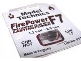 Bougie Firepower F7